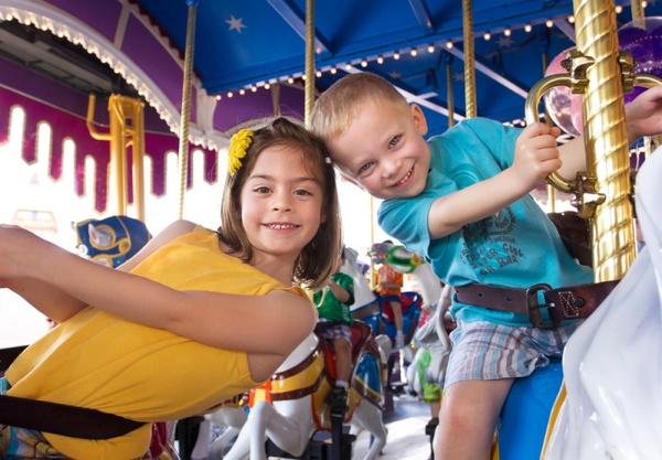Места в Москве для отдыха с детьми