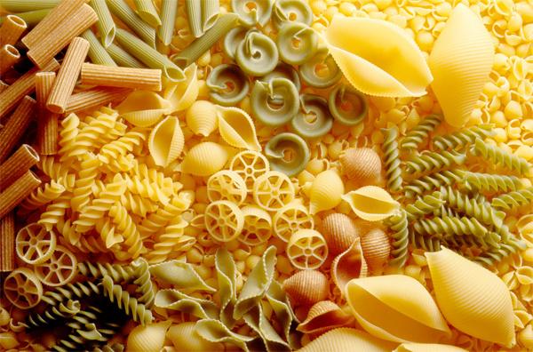 Солько белка содержится в настоящих макаронах