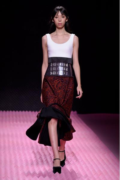 Показ Mary Katrantzou на Неделе моды в Лондоне | галерея [1] фото [4]