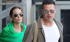Джоли и Питт вернулись в Лос-Анджелес с детьми
