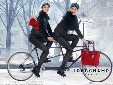 Кадр из рекламной кампании Longchamp сезона осень-зима 2012/13