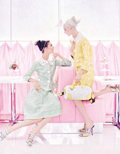 Рекламная кампания Louis Vuitton, сезон весна-лето 2012