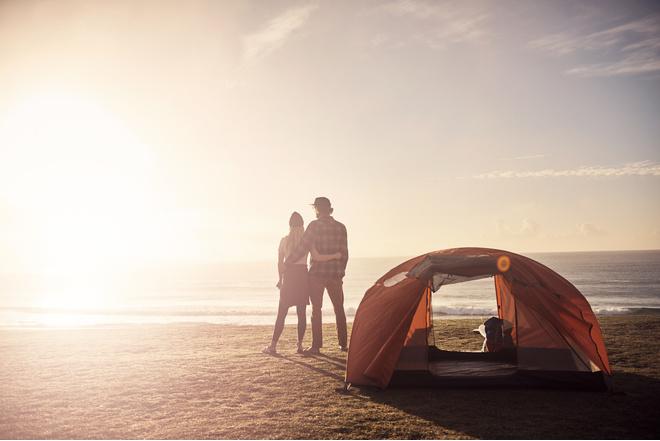 отдых с палатками на черном море