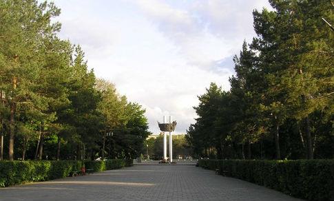 парк салют победа оренбург