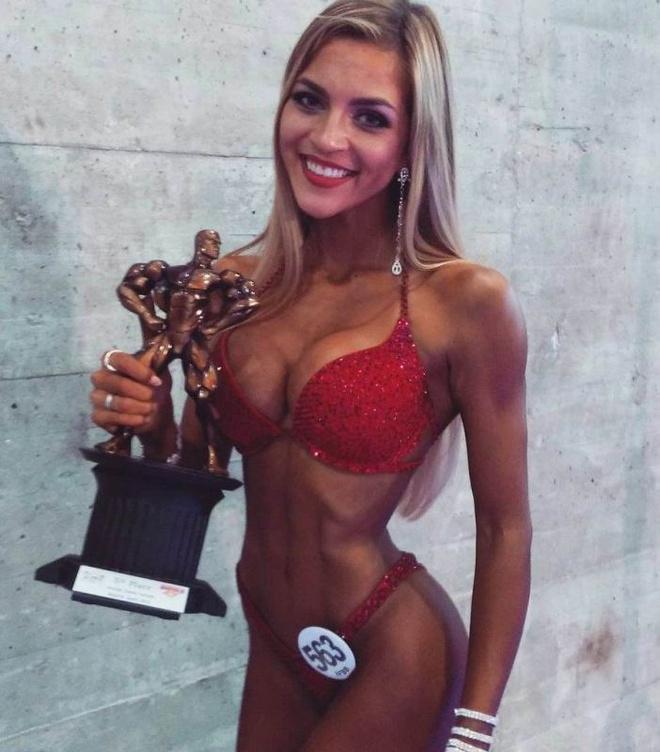 Ксения Романова, финалистка конкурса Arnold Classic Europe 2015 в Мадриде