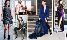 Как одеться на Новый год: советы модных блогеров