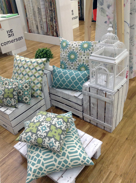 Выставка Home Textiles Premium: главные тренды этого сезона | галерея [1] фото [6]