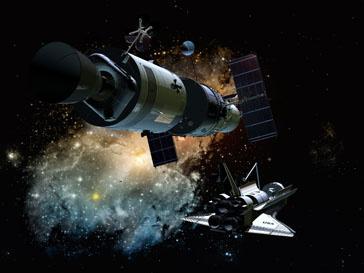 Шаттл Discovery будет находится в космосе 12 дней