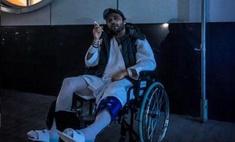 Илья Глинников оказался в инвалидном кресле