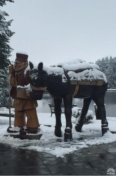 Излюбленное место туристов для фото в Златиборе