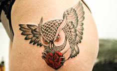 На юг не летим – 30 идей для татуировок с птицами