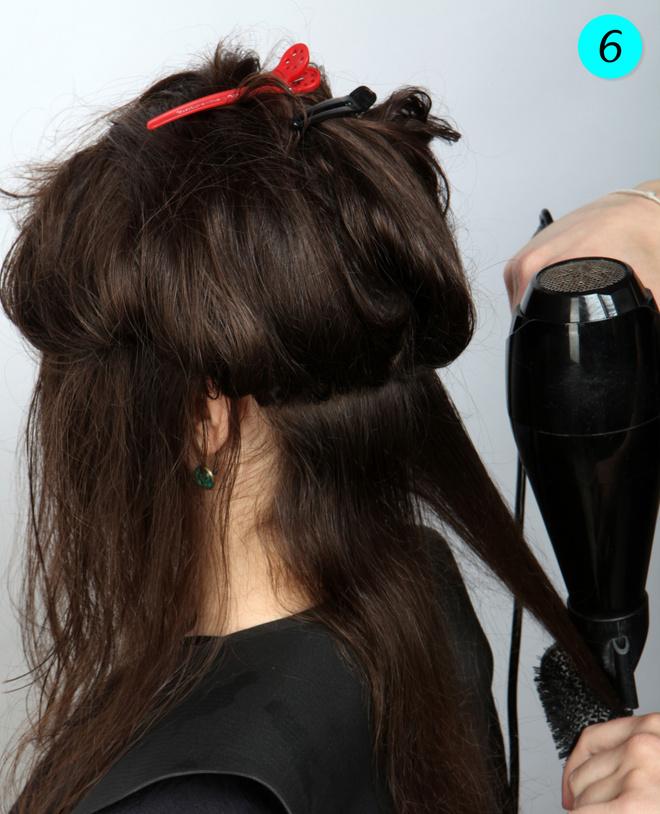 стрижка волос каскад