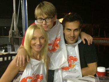 Кристина Орбакайте встретила день рождения в кругу близких людей