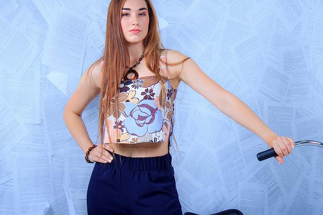 Луиза Старикова, участница «Мисс велогород-2016», фото