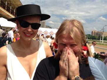 Виктори Дробыш с женой