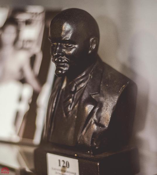 Бюст Ленина, музей Высоцкого, фото