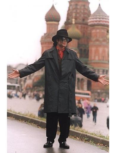 Майкл Джексон в Москве, 1993