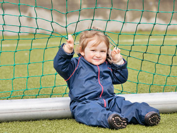 В Голландии живет самый юный футболист планеты