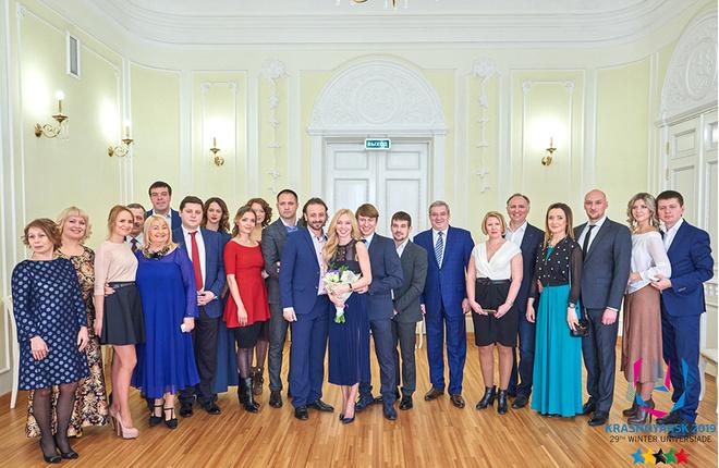 Свадьба Алексея Ягудина и Татьяны Тотьмяниной