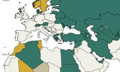 Карта: В каких странах военному призыву подлежат только мужчины, а в каких— еще и женщины