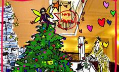 Альбер Эльбаз нарядит новогоднюю елку