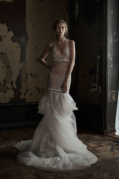 50 самых красивых платьев со Свадебной Недели Моды в Нью-Йорке | галерея [1] фото [10]