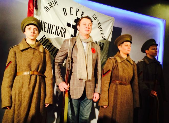 Марат Башаров на премьере фильма «Батальонъ»