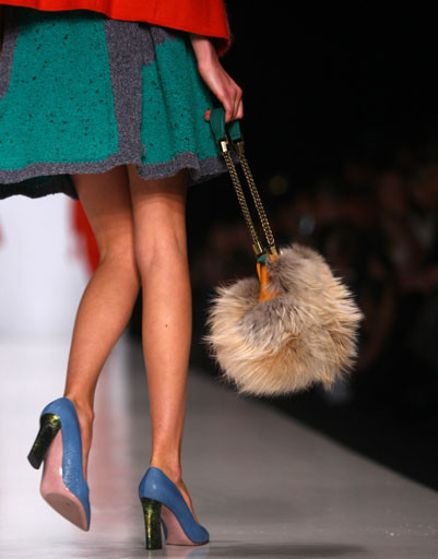 Коллекция Alena Akhmadullina осень-зима 2013/14 на Mercedes-Benz Fashion Week