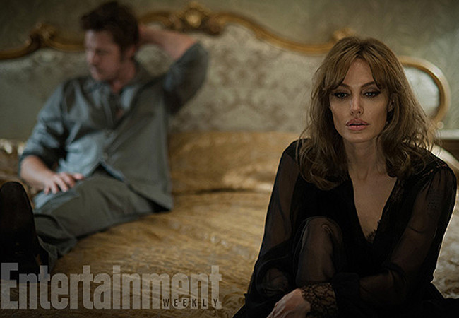 Фильм У моря с Джоли и Питтом 2015 фото