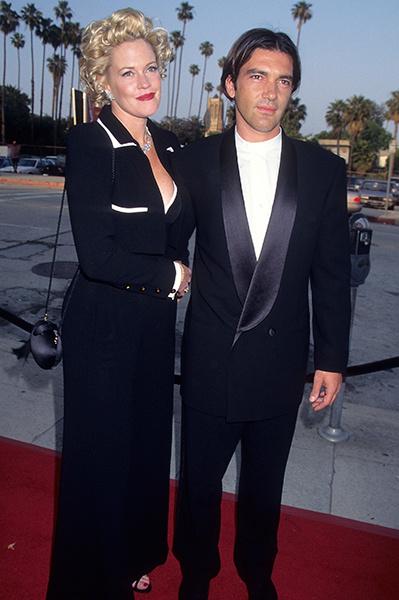 Антонио Бандерас и Мелани Гриффит, 1995 год