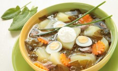 Суп с приятной кислинкой: щи из щавеля с яйцом
