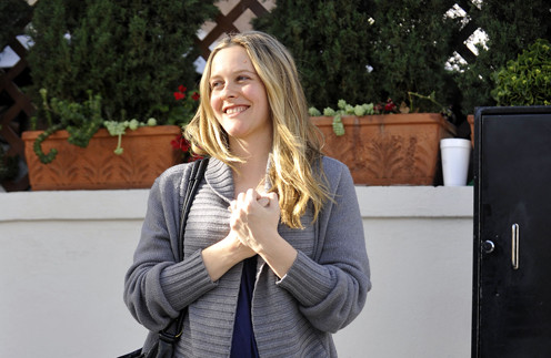 Алисия Сильверстоун назвала своего первенца Беар Блю (Bear Blu).