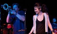 Сати Казанова выступила на джазовом фестивале