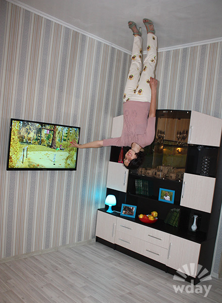 «Дом вверх дном» в Ростове: фото