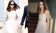 Кира Найтли вышла замуж в поношенном платье