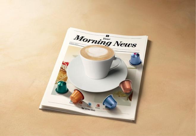 nespresso представил коллекцию утренних блендов