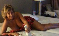58-летняя жена Прохора Шаляпина показала грудь