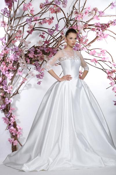 60 пышных свадебных платьев 2015 | галерея [1] фото [44]