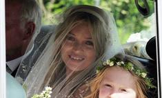 Первое свадебное фото Кейт Мосс уже выложено в интернете