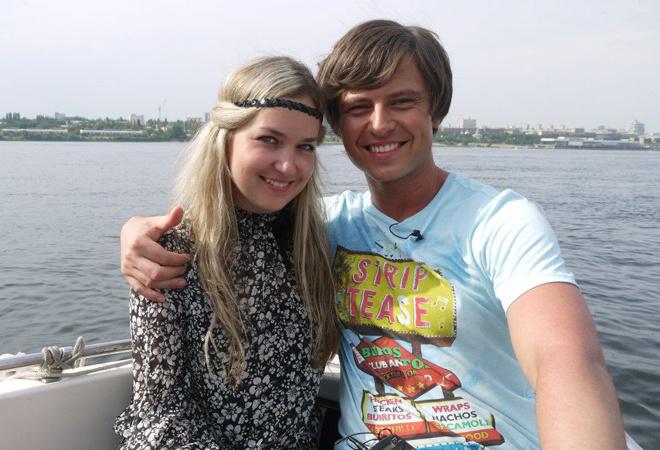 Прохор Шаляпин и Владлена Гейман фото