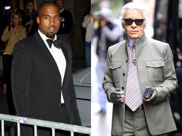 Канье Уэст (Kanye West) хочет работать с Карлом Лагерфельдом (Karl Lagerfeld)