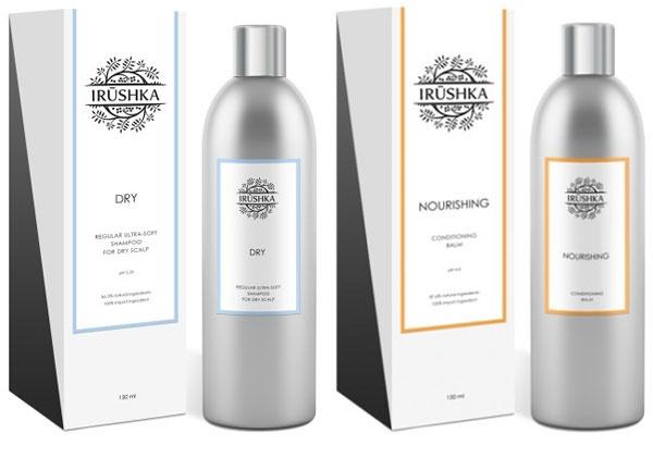 Irushka, шампунь Dry и кондиционер Nourishing