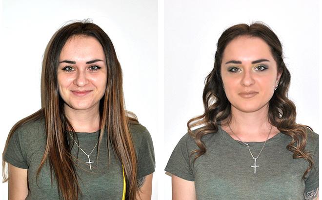 Вечерний макияж и прическа фото