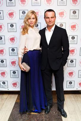 Анна Невская с мужем