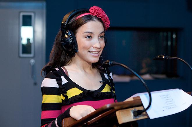 Виктория Дайнеко озвучила новую принцессу Disney.