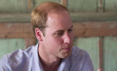 Принц Уильям стремительно лысеет