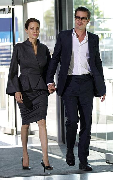 Анджелина Джоли и Брэд Питт, фото