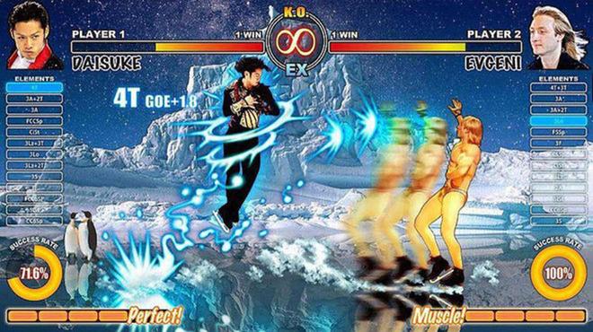 Обнаженный Плющенко стал героем японской компьютерной игры