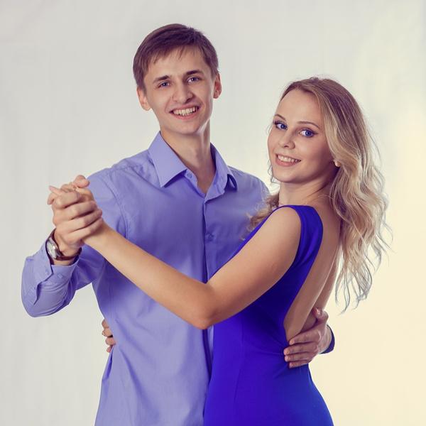 Илья Аристов и Яна Юськив