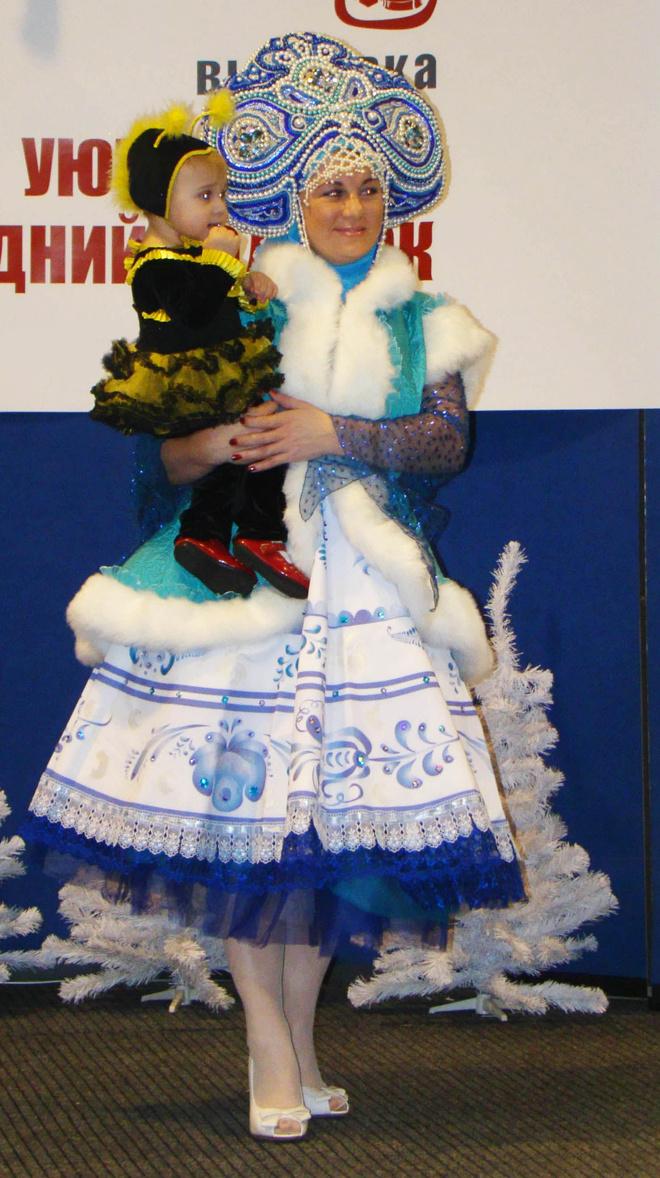 костюм на новый год для мамы и ее малыша